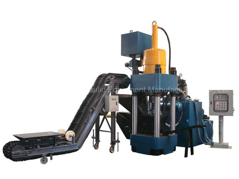 Máquina de la prensa del bloque de la sal del briquetaje de la alimentación de animales 1000 toneladas