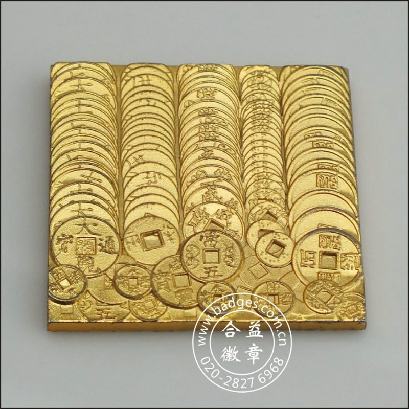 Gold and Silver Baskets, Custom Decoration (GZHY-BJ-010)