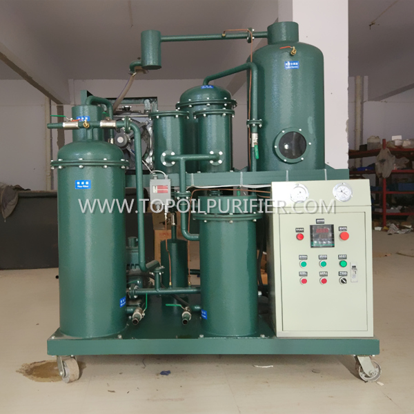 Fast Treatment No Pollution Hydraulic Oil Purifier