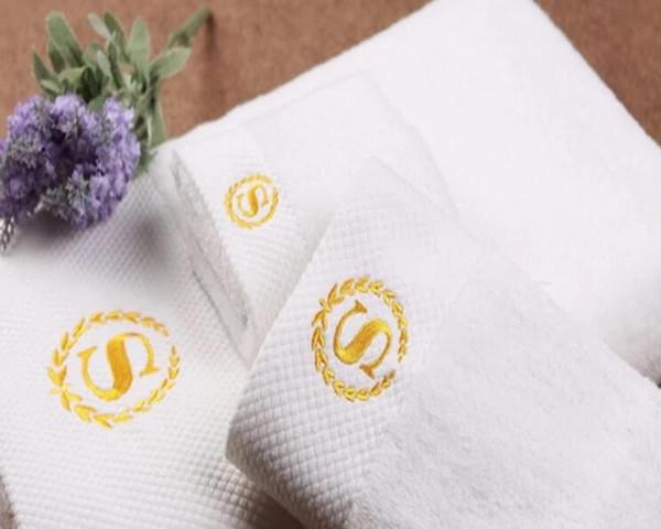 Luxury Hotel Embroidery Bath Towels (DPF201654)