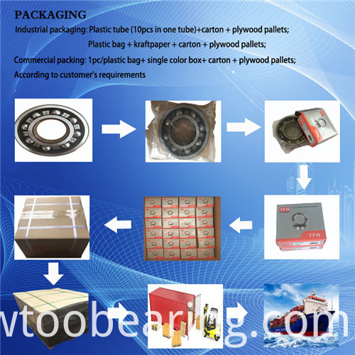 Drawn Cup Needle Roller Bearings with Closed End Bk0408