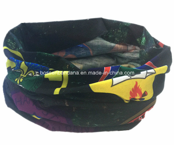 China Cheap Promotional Logo Printed Camouflage Polyester Microfiber Multifunctional Sports Buff