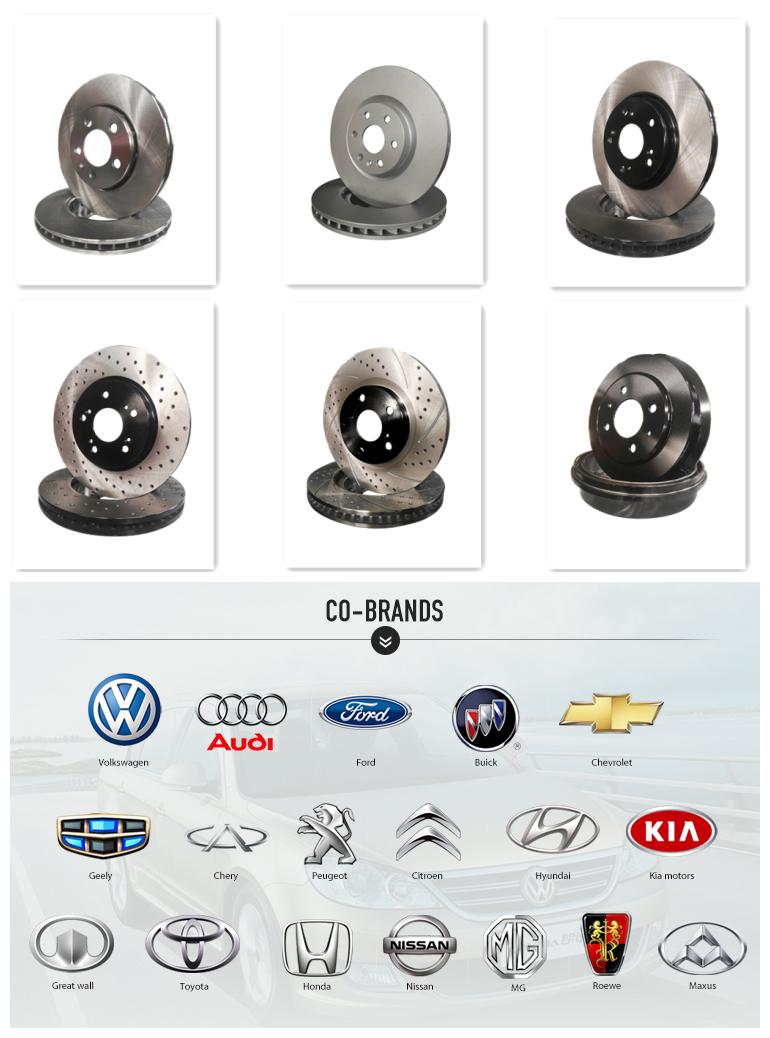 Auto Car Part Brake Disc Brake System for VW