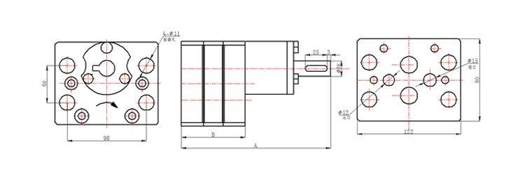 Color Steel Composite Board Machine Gear Metering Pump Price