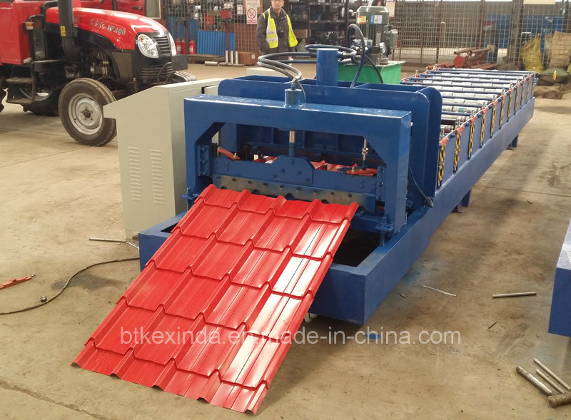 Kxd 840 Galvanize Steel Metal Roofing Glazed Tile Forming Machinery