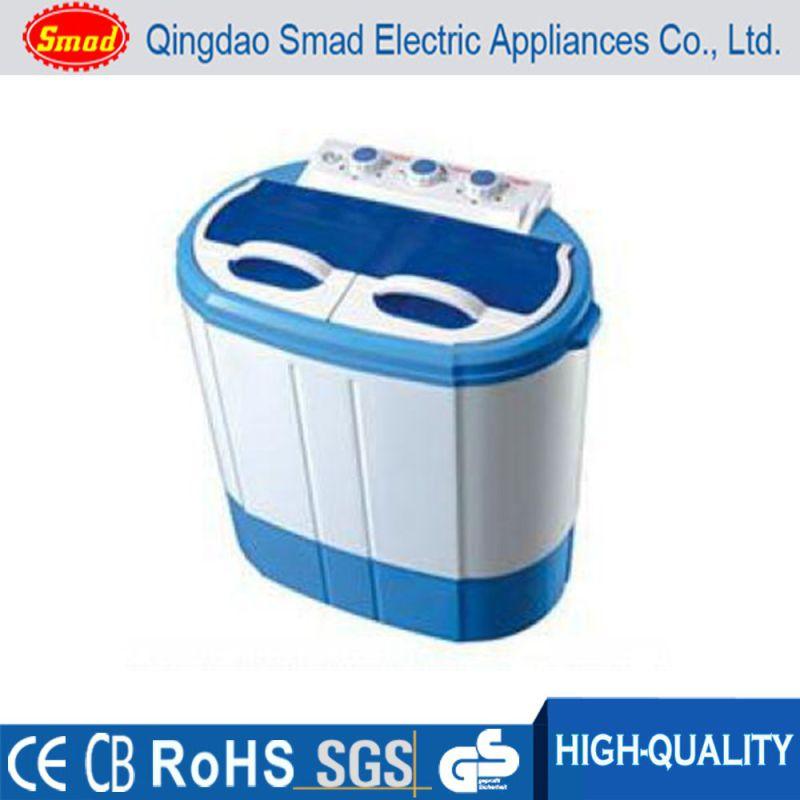 Portable Baby Clothes Mini Twin Tub Top Loading Washing Machine