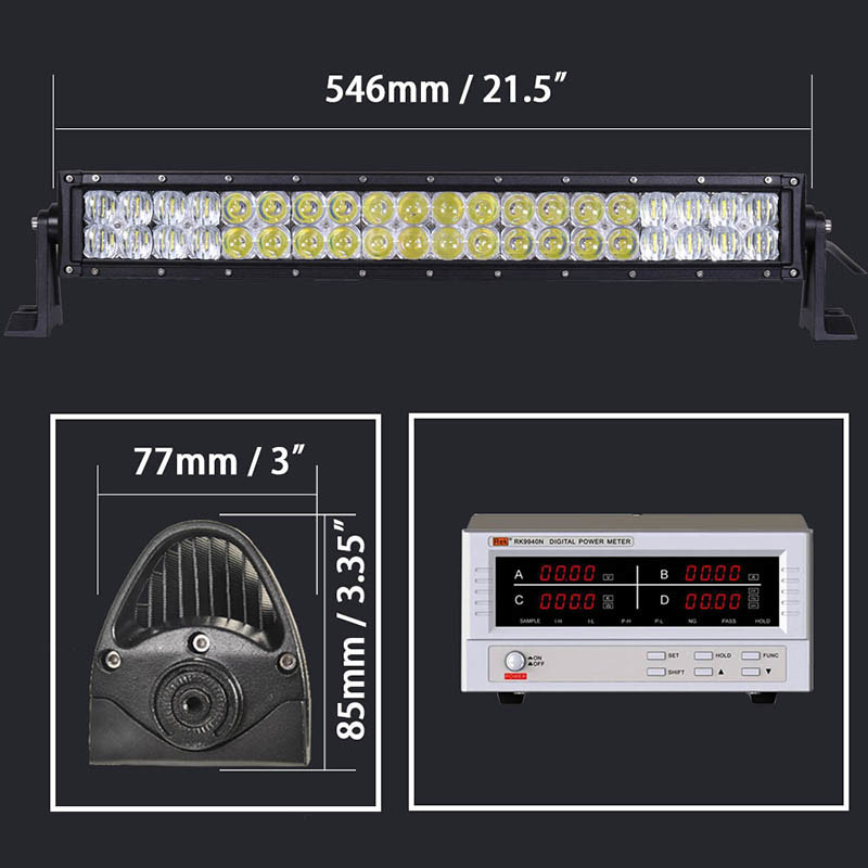 5D CREE LED Bar Light 120W SUV LED Light Bar