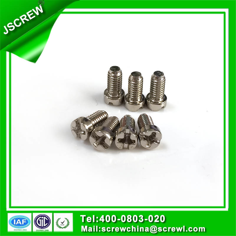 Customized M4 Cap Head Machine Screws