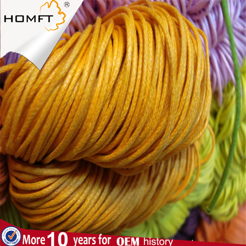 Knotting Cord - Nylon - Beading Cord - 50 Meter - 164 Foot - Yellow