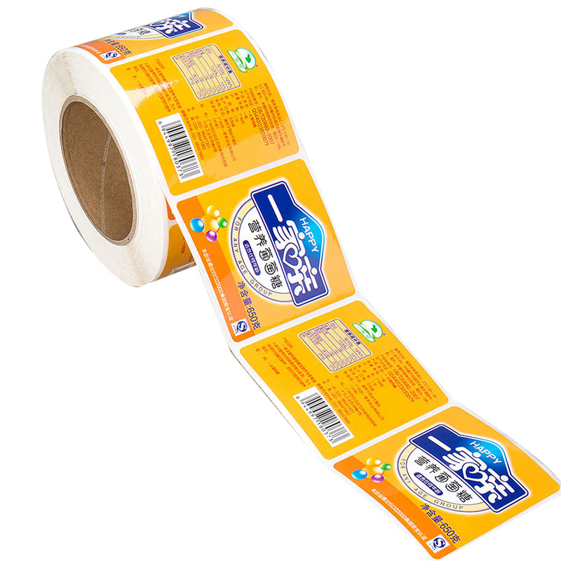 New Products High Quality Waterproof Round Bottle Label PVC Sticker Roll (jhf-sticker044)