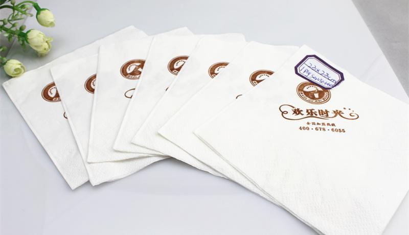 1 Ply 2 Ply 3 Ply Art Design Custom Printed Paper Napkin 23X23cm