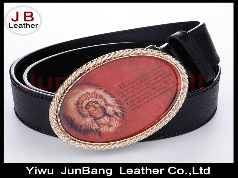 Indian Head Enamel Men's Belt