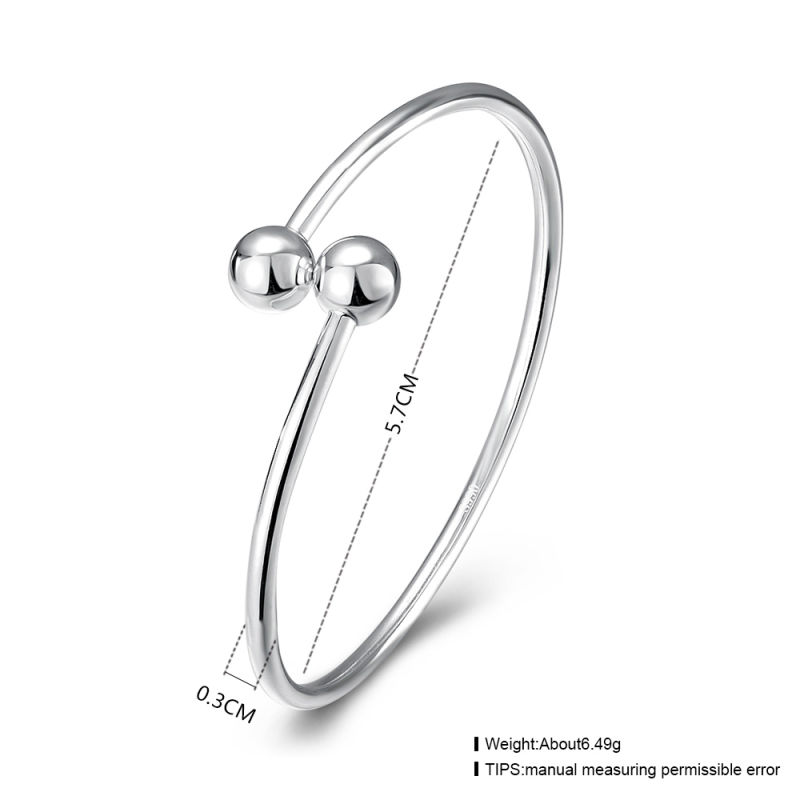Bardian 925 Sterling Steel Bangle Sterling Silver Bracelet Round Shape Most Popular Bracelet