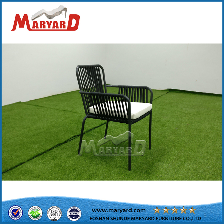 Morden Outdoor Sling Fabric Textile Chair for Hotel Restaurant Dining Chair