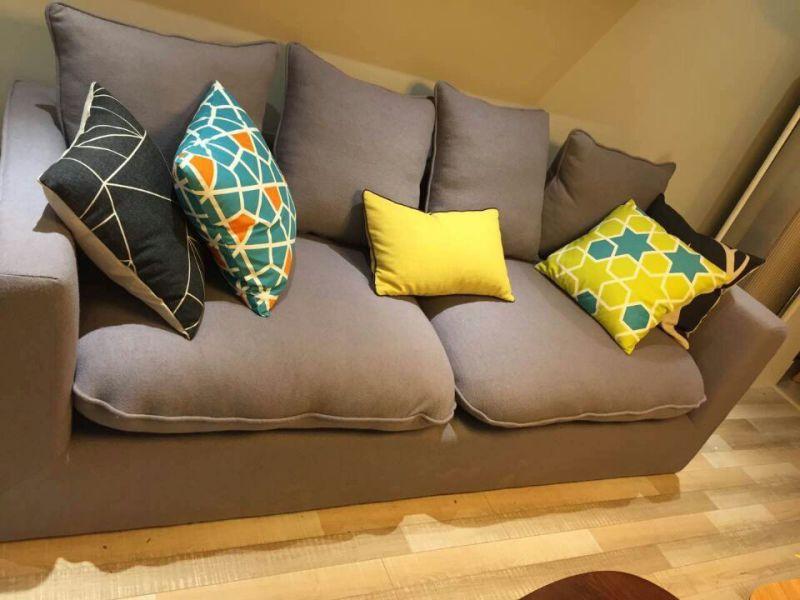 High Quality Wooden Home Design Furniture Sofa