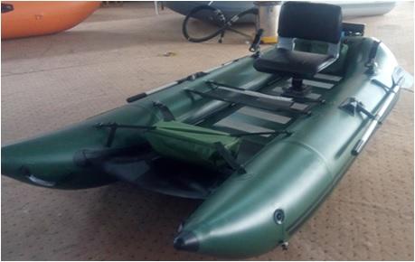 Inflatable Flying Fishing Pontoon Boat