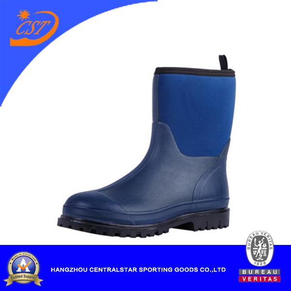 Comfortable Mens Cold Resist Rubber Boots