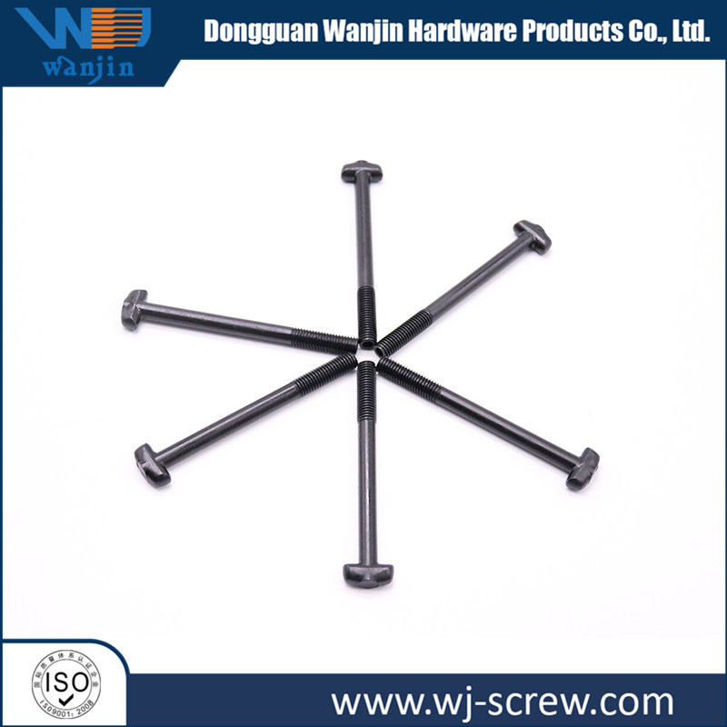 Oen Non-Standard Stainless Special-Shaped Head Steel Black Thread Long Bolt