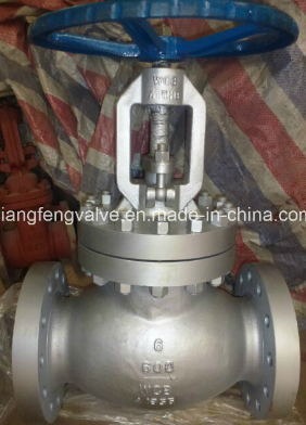 600lb API Flange End Globe Valve with Carbon Steel