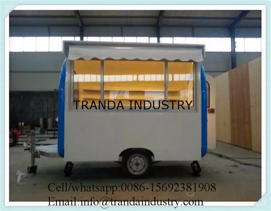 New Model Mini Shopping Fryer Cart