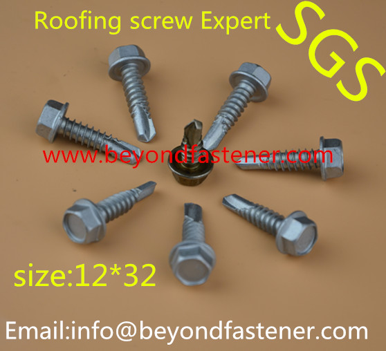Roofing Screw Tek Screw Truss Screw Hi-Low Thread Screw
