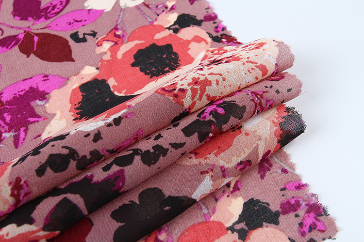 High Quality Custom Chiffon Fabric