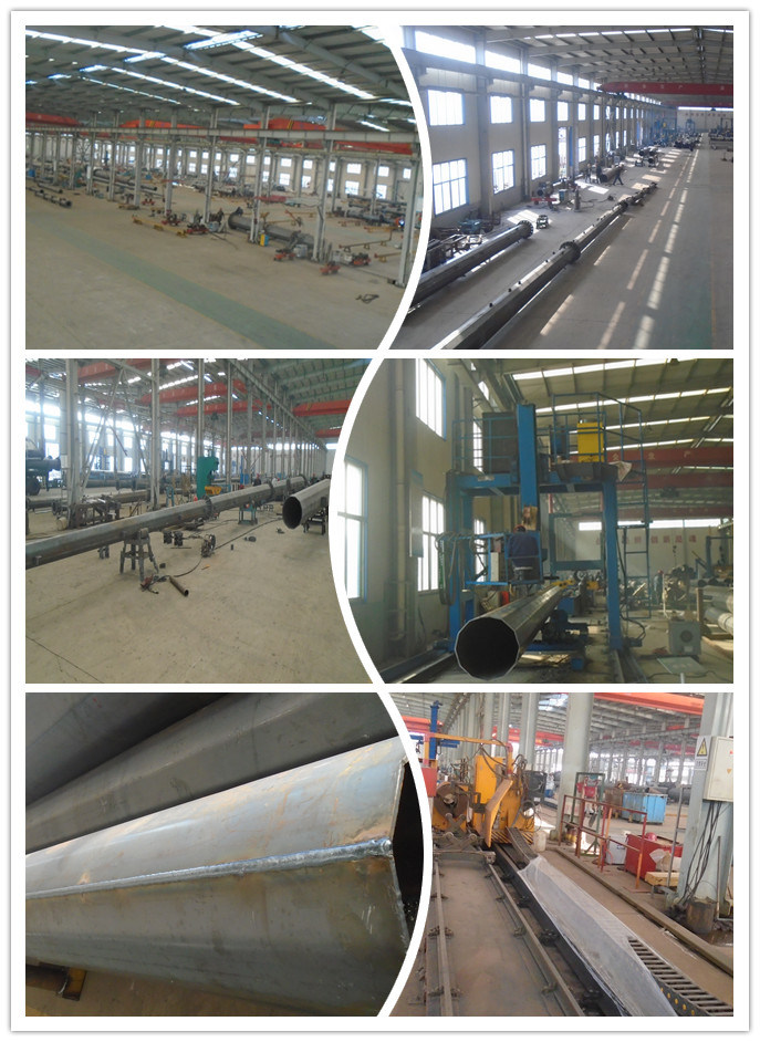 Galvanized Steel Monopole Tower