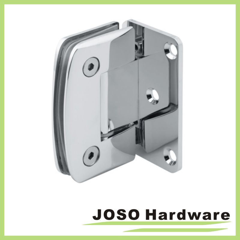 Glass to Wall 90 Degree Curved Shower Hinge (Bh6001A)