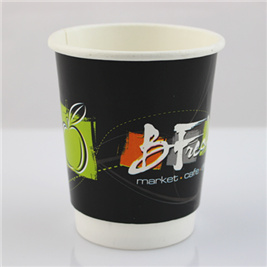 Wholesale Double Wall Insulation Hot Tea Drinking Paper Cup