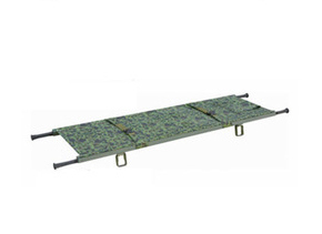 Hospital/Military Folding Stretcher with Ce