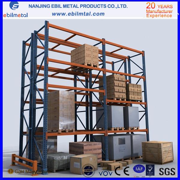 Metallic Steel Iron Warehouse Storage Rack Selective Pallet Racking