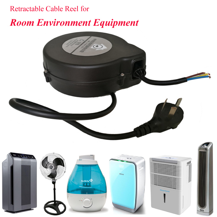 Extension Retractable Power Cable Reel for Home Appliance Humidifier
