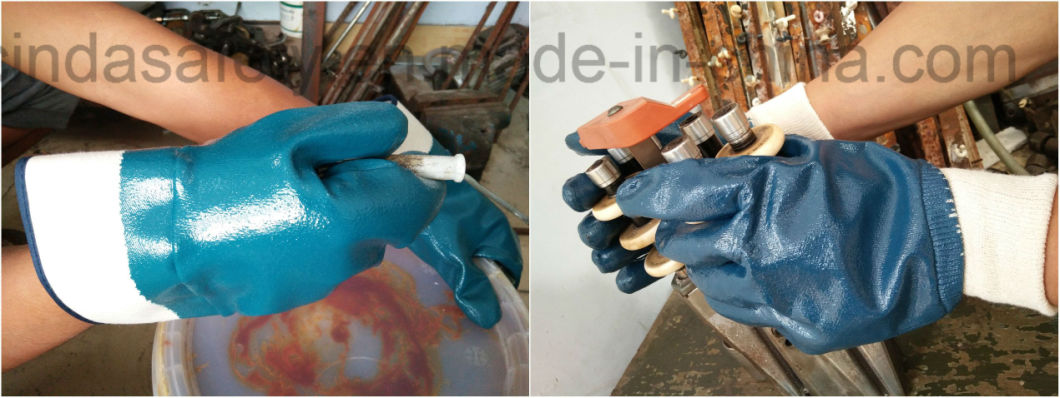Labour Protective Industrial Work Gloves/Safety Gloves/Nitrile Gloves