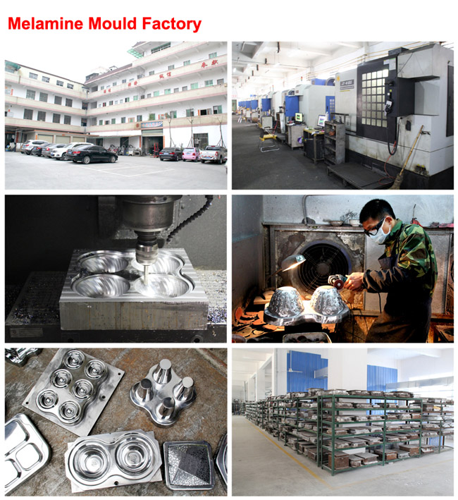 Polish Chrome Plating Steel Melamine Tableware Compression Molds (MJ-022)