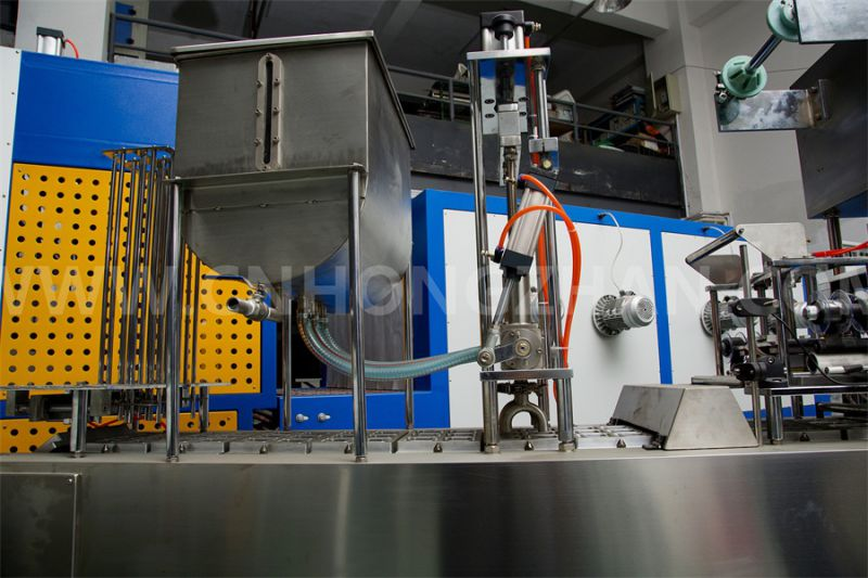 Hongzhan Bg32A Automatic Tray Sealing Machine for Cup Filling and Sealing