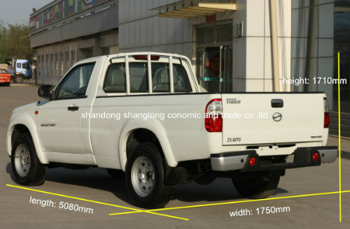 2 Seats Single Cab Pickup Car (with petrol/ gasoline engine)