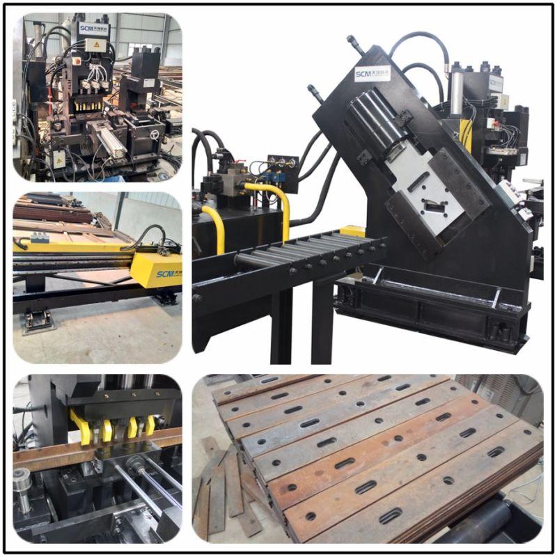 Tpl9004 Máquina de punzonado, marcado y corte CNC para acero plano