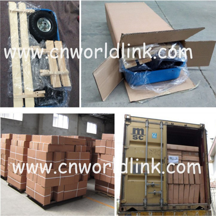 High Quality Wooden Wagon Kids Cart