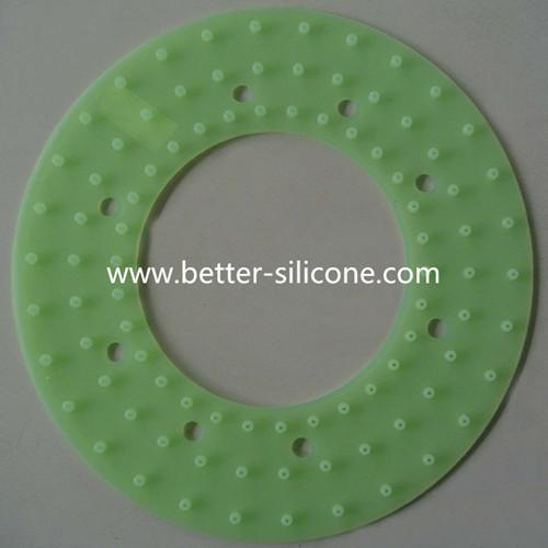 Custom Elastomeric Silicone Rubber Water Hose Washer