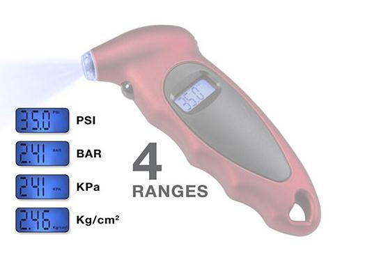 LCD Digital Tyre Pressure Gauge for Car