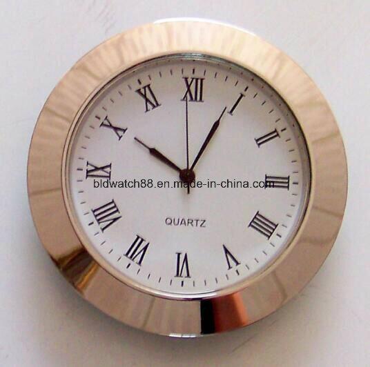 Mini Clock Square Case Quartz Clock Inserts with Japan Movement