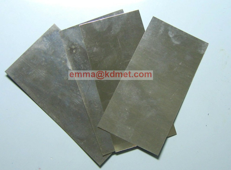 Molybdenum Sheets/Molybdenum Plates/Ground Finish Mo Sheet