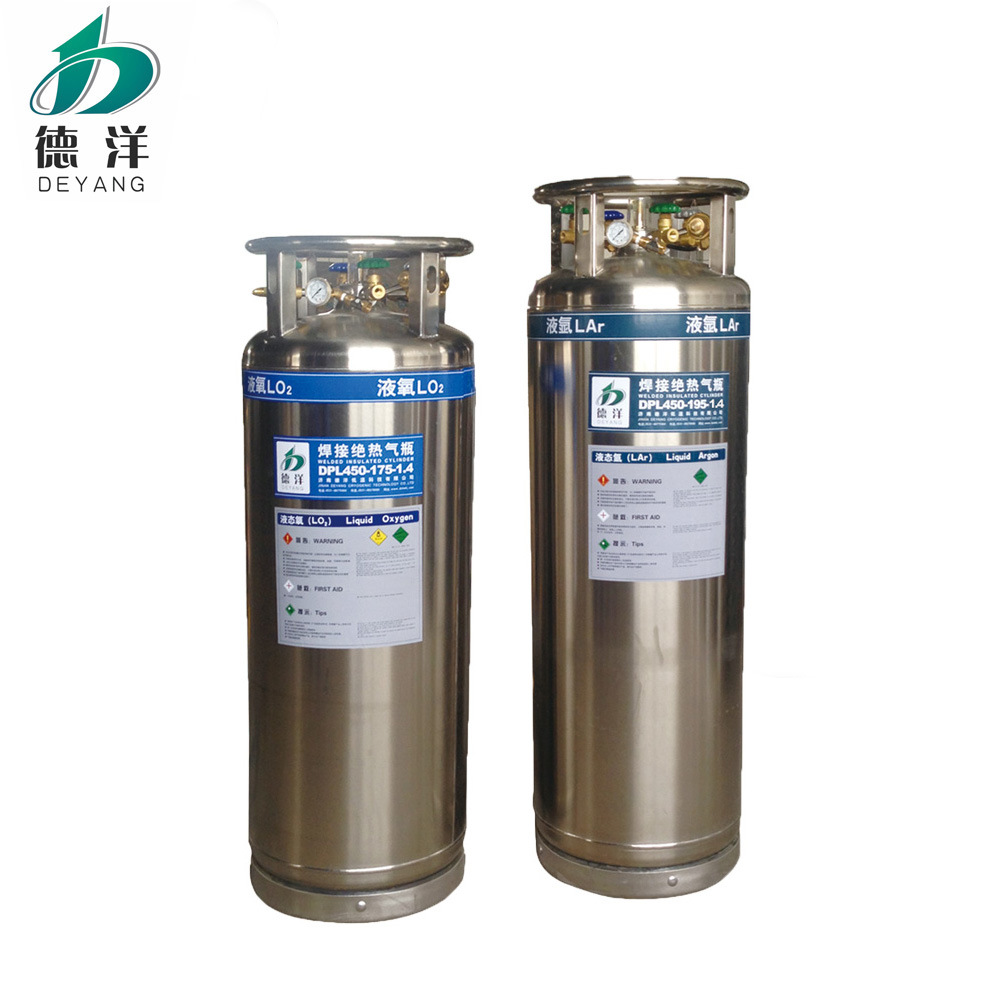 Liquid Argon Gas Cylinders Factory Price