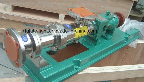 Food Grade Sanitary Stainless Steel Mono Screw Pump