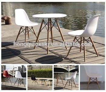 Plastic Wood Designer Chair
