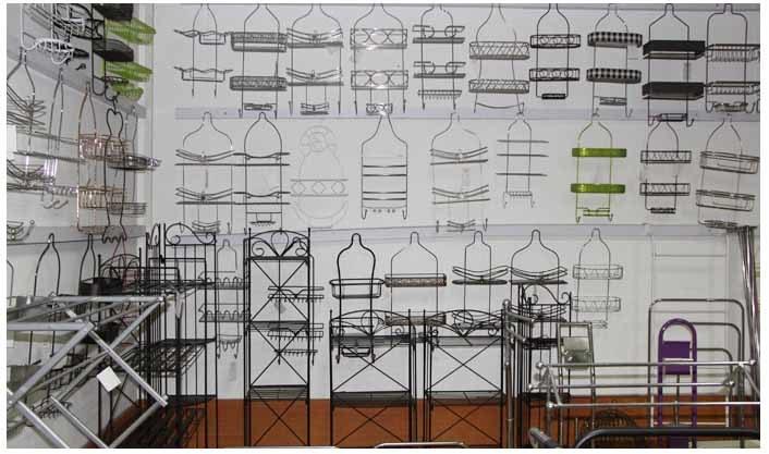 China Metal Wire Shower Caddy Supplier Factory Bath Rack Manufacturer