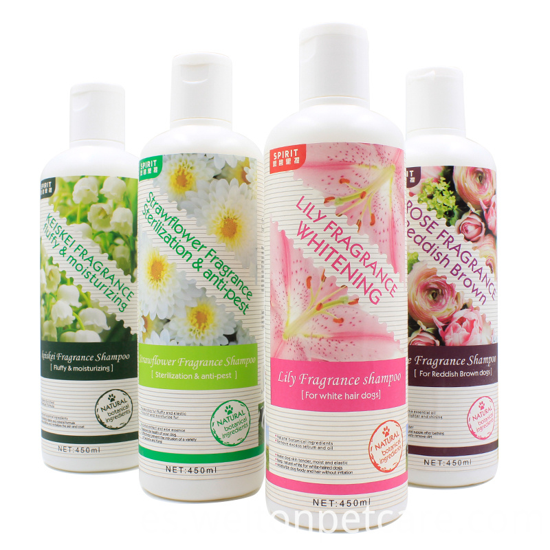 Walnut Oil Whitening natural mild cat shampoo