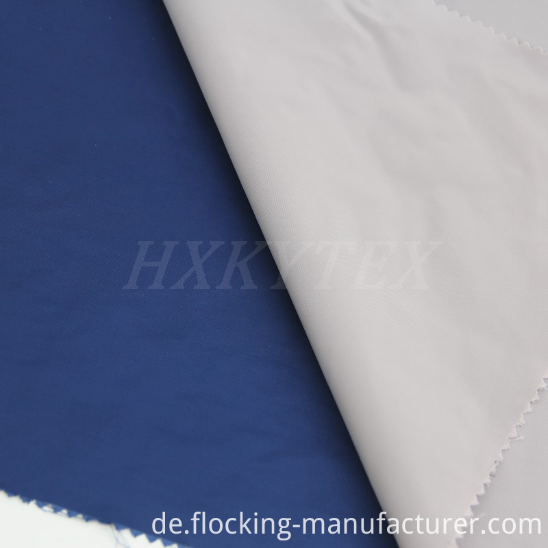 Plain Dyed Memory Polyester Fabric for Men's Jacket