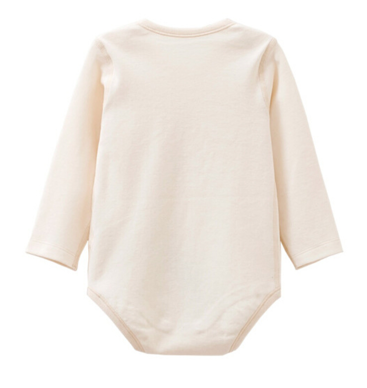 Organic Cotton Baby Long Sleeve Romper