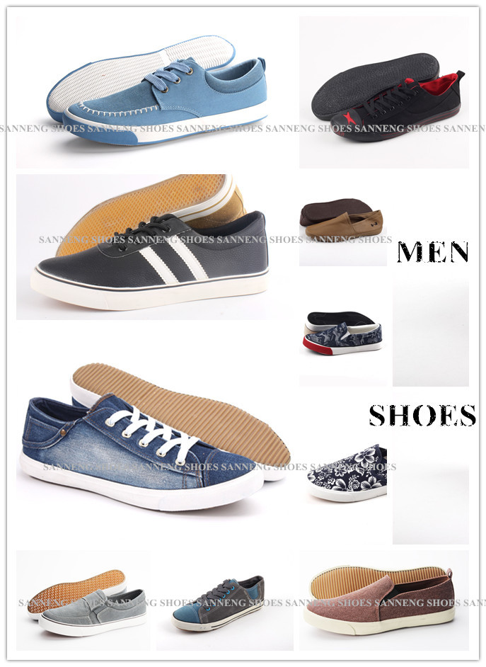 Men Shoes Leisure Comfort Men Canvas Shoes Snc-0215012